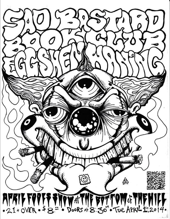 The Sad Bastard Book Club Facebook Sadbastardbookclub Indie Folk Doom Egg Shen EggShenBand Experimental Noise Post Rock Psychedelic
