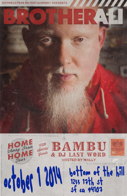 Brother Ali & Bambu @ Bottom of the Hill
