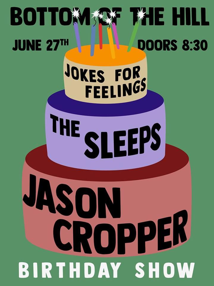 Bottomofthehill Jason Cropper The Sleeps Jokes For Feelings