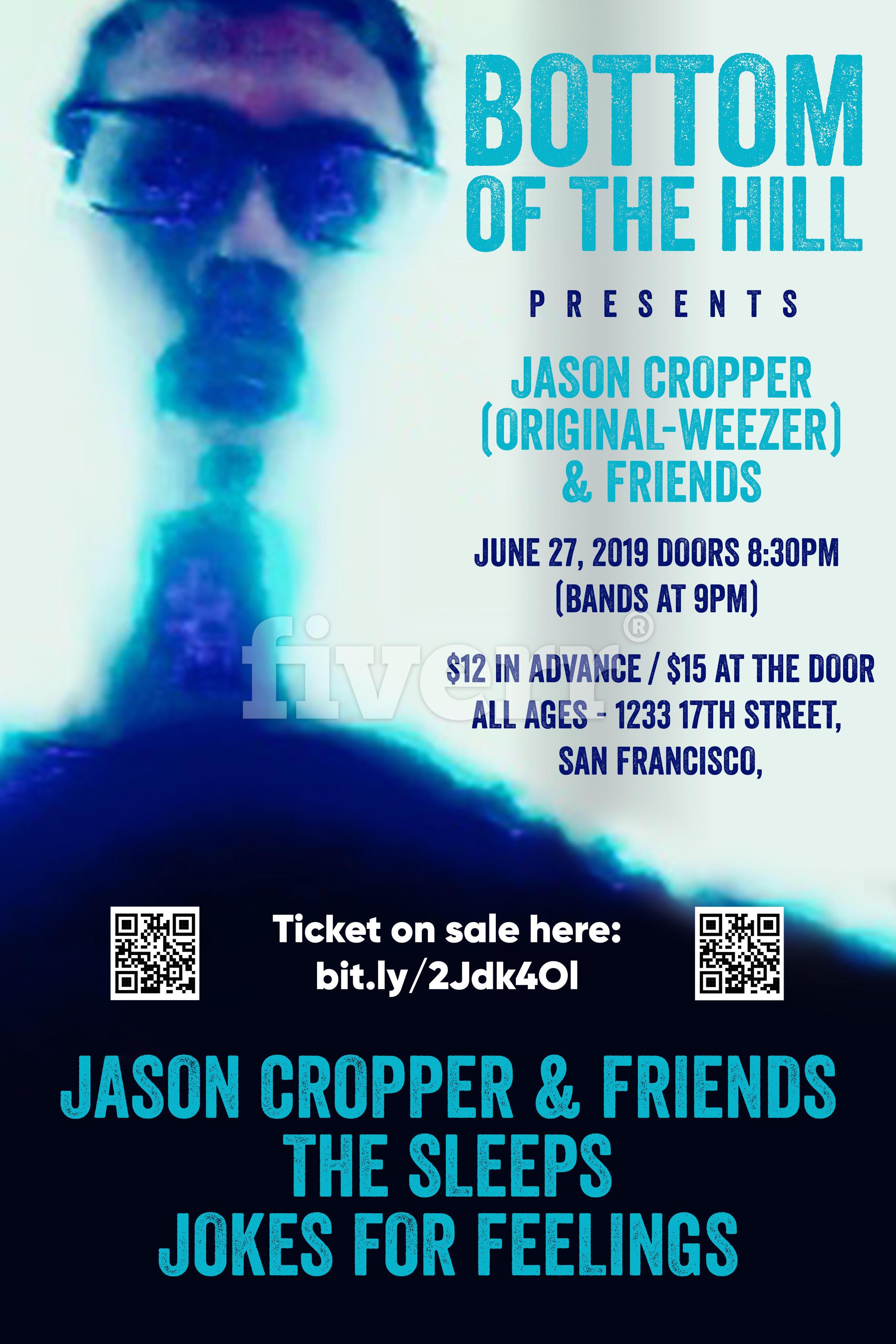 bottomofthehill: Jason Cropper ~ The Sleeps ~ Jokes For