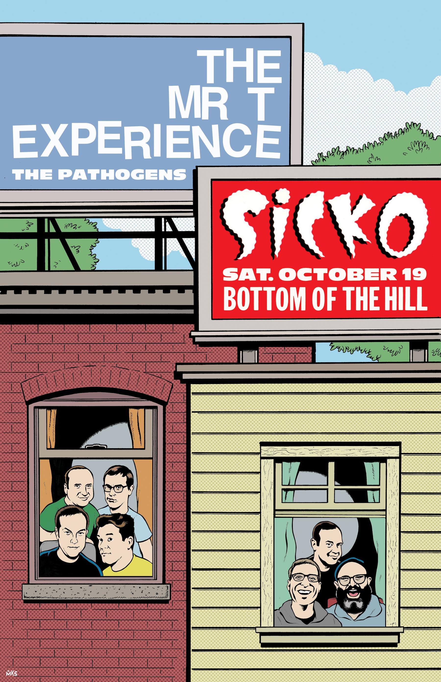 Bottom Of The Hill > Calendar & Tickets